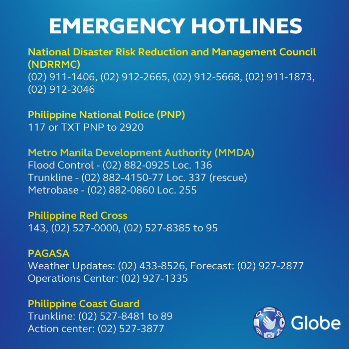 Globe-emergency-numbers